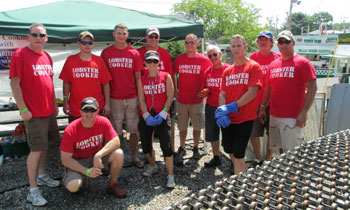Maine Lobster Festival volunteers